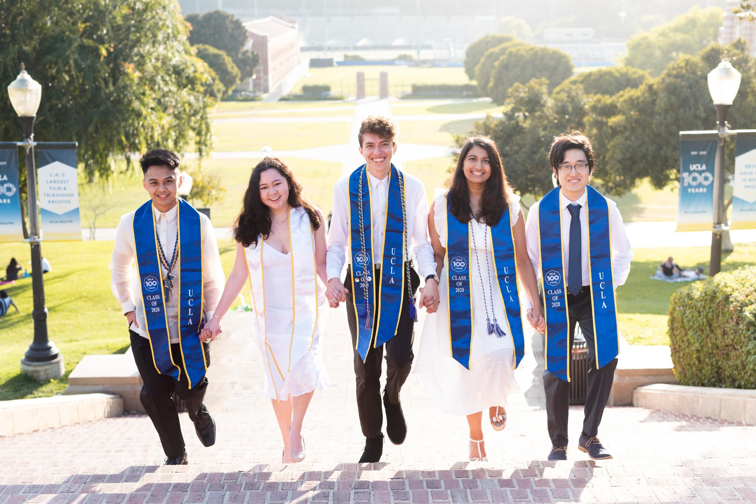 2019-20 PDT Cohort: Byron, Raph, Sarah, Aashi + Josh